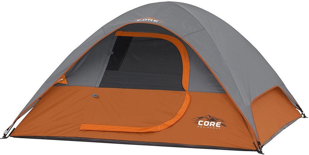 CORE 3 Person Dome Tent 7'x7'