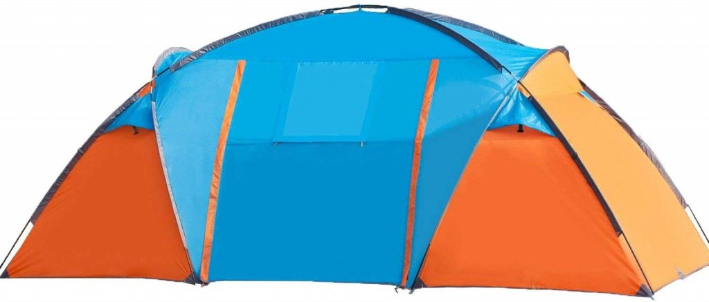 BELLAMORE GIFT Tent Outdoor Family Camping Hiking 4 Person Sport Travel Waterproof