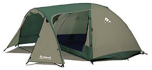 Chinook Whirlwind Guide 5-Person Fiberglass Pole Tent