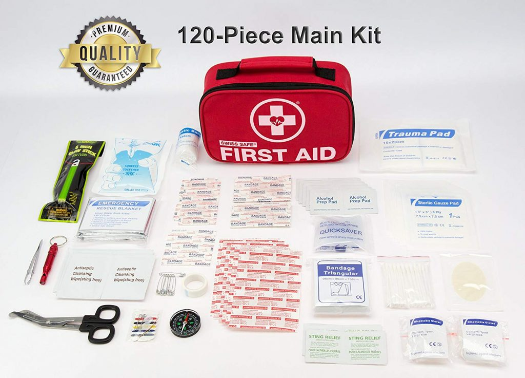 Pre Packaged First Aid Kit for hiking